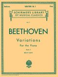 Variations - Book 2: Schirmer Library of Classics Volume 7 Piano Solo