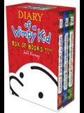 Diary of a Wimpy Kid Box of Books, Books 1-3: Diary of a Wimpy Kid/Rodrick Rules/The Last Straw