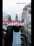 Relationship Sabotage: Unconscious Factors That Destroy Couples, Marriages, and Families