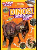 Dinos Sticker Activity Book [With Sticker(s)]