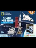 National Geographic Space Mission: 3D Puzzle and Book [With Book(s)]