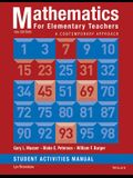 Mathematics for Elementary Teachers: A Contemporary Approach 10e Student Activity Manual