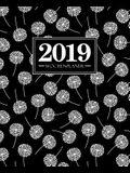 Wochenplaner 2019: 19 X 23 CM: Wei