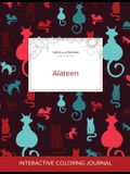 Adult Coloring Journal: Alateen (Turtle Illustrations, Cats)