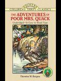 The Adventures of Poor Mrs. Quack (Dover Children's Thrift Classics)
