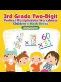 3rd Grade Two-Digit Vertical Multiplication Worksheets Children's Math Books