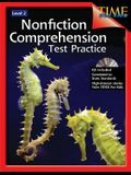 Nonfiction Comprehension Test Practice Level 2 [With CD]