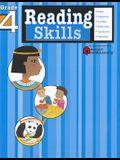 Reading Skills: Grade 4 (Flash Kids Harcourt Family Learning)