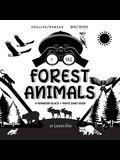 I See Forest Animals: Bilingual (English / Korean) (영어 / 한국어) A Newborn Black & White Baby Book (High-Con