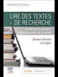 Lire Des Textes de Recherche: Guide Convivial Pour Professionnels de la Santé