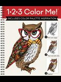 1-2-3 Color Me! - Adult Coloring Book