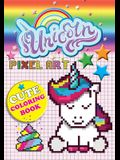 Unicorn Pixel Art: Color Unicorns By Numbers For Kids Ages 5-10