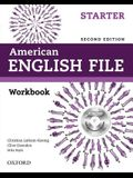 American English File Second Edition: Level Starter Workbook: With Ichecker