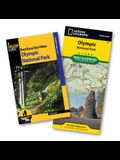 Best Easy Day Hiking Guide and Trail Map Bundle: Olympic National Park [With Map]