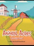 Animal Acres: Coloring Book
