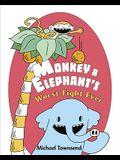 Monkey & Elephant's Worst Fight Ever!