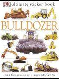 Ultimate Sticker Book: Bulldozer: Over 60 Reusable Full-Color Stickers