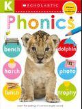 Phonics Kindergarten Workbook: Scholastic Early Learners (Skills Workbook)