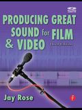 Producing Great Sound for Film and Video [With CD]