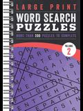 Large Print Word Search Puzzles: Volume 2