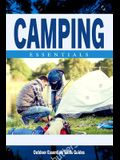 Camping Essentials: A Folding Pocket Guide to Gear and Basics for Rookie Campers