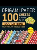 Origami Paper 100 Sheets Dog Patterns 6 (15 CM): Tuttle Origami Paper: High-Quality Double-Sided Origami Sheets Printed with 12 Different Patterns: In