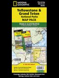 Yellowstone and Grand Teton National Parks [map Pack Bundle]