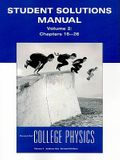 Student Solutions Manual: Essential College Physics, Volume 2: Chapters 15-26