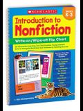 Introduction to Nonfiction Write-On/ Wipe-Off Flip Chart: An Interactive Learning Tool That Teaches Young Learners How to Navigate Nonfiction Text Fea
