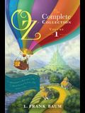 Oz, the Complete Collection, Volume 1: The Wonderful Wizard of Oz/The Marvelous Land of Oz/Ozma of Oz