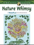 Creative Haven Nature Whimsy: A Wordplay Coloring Book