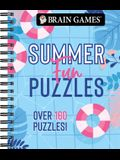 Brain Games - Summer Fun Puzzles (#2): Over 160 Puzzles!