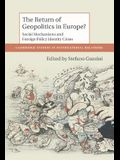 The Return of Geopolitics in Europe?: Agency, Body and Emotion in International Relations