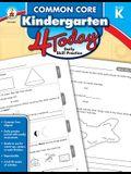Common Core Kindergarten 4 Today: Daily Skill Practice