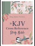 KJV Cross Reference Study Bible--Sage Songbird