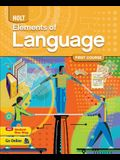 Elements of Language Homeschool Package Grade 7 First Course