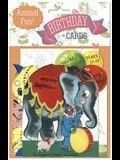 Animal Fun Time Birthday Card Packet