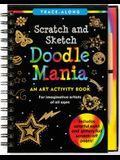 Scratch & Sketch Doodle Mania (Trace-Along) [With Wooden Stylus]