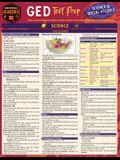 GED Test Prep - Science & Social Studies: A Quickstudy Laminated Reference Guide