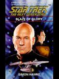 Blaze of Glory (Star Trek Next Generation 34)