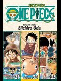 One Piece (Omnibus Edition), Vol. 11, Volume 11: Includes Vols. 31, 32 & 33
