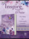 Inspire Praise Bible NLT (Softcover): The Bible for Coloring & Creative Journaling