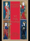 Women Saints: 365 Daily Readings