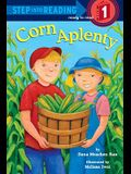 Corn Aplenty (Step into Reading)