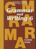 Saxon Grammar & Writing Grade 6 Teacher Packet