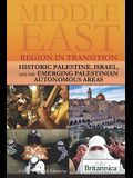 Historic Palestine, Israel, and the Emerging Palestinian Autonomous Areas