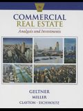 Commercial Real Estate Analysis and Investments [With CDROM]