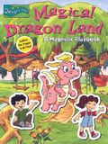 Magical Dragon Land: A Magnetic Playbook [With 7 Colorful Magnets]