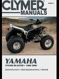Yamaha Yfs200 Blaster, 1988-2006: Maintenance * Troubleshooting * Repair