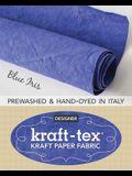 Kraft-Tex Blue Iris Hand-Dyed & Prewashed: Kraft Paper Fabric, 18.5 X 28.5 Roll